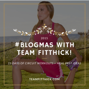 blogmas team fitthick